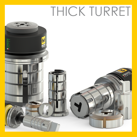 Matrix thick turret
